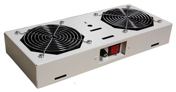 ENCLOSURE SYSTEMS FAN MODULE 2 FAN For Proline wall cabinets, filtered, switched, grey