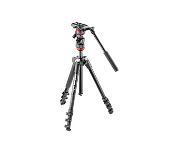 MANFROTTO MVKBFR-LIVE BEFREE KIT TREPIED VIDEO avec trépied Befree aluminium, bag