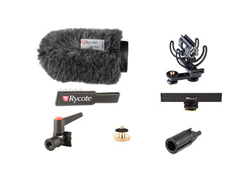 RYCOTE 116010 12CM CLASSIC-SOFTIE KIT CAMERA pour microphones de diamètre 19-22mm, 145mm