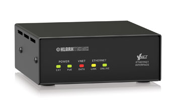 KLARK TEKNIK VNET INTERFACE ETHERNET convertisseur Ethernet vers VNET