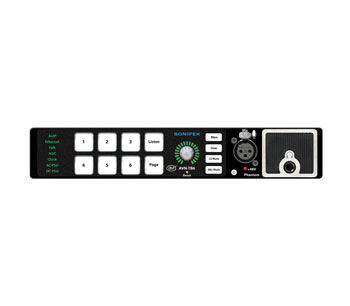 SONIFEX AVN-TB6 INTERCOM TALKBACK 6 touches, AES67 AoIP, autonome