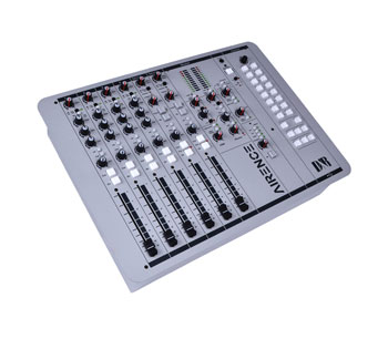 D&R AIRENCE-USB BROADCAST MIXER 4x XLR mic in, 4x RCA stereo in, 4x USB I/O, 2x telephone hybrid
