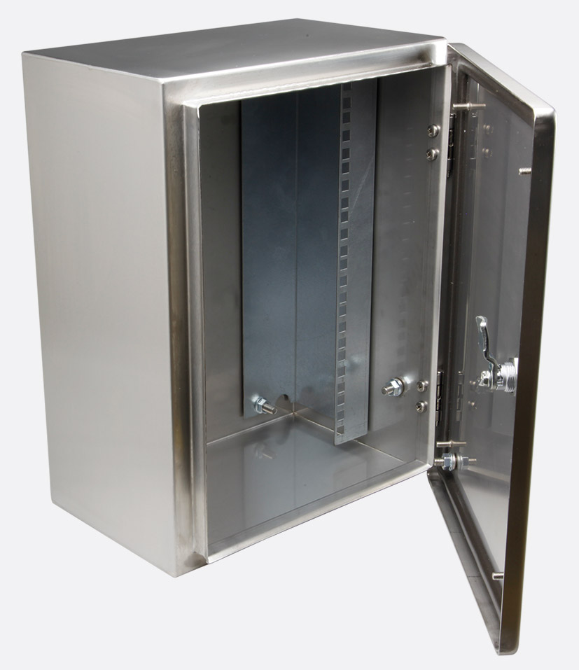 kitchen cabinets materials enclosure systems 46632108 s wall cabinet ip66 8u half 3092