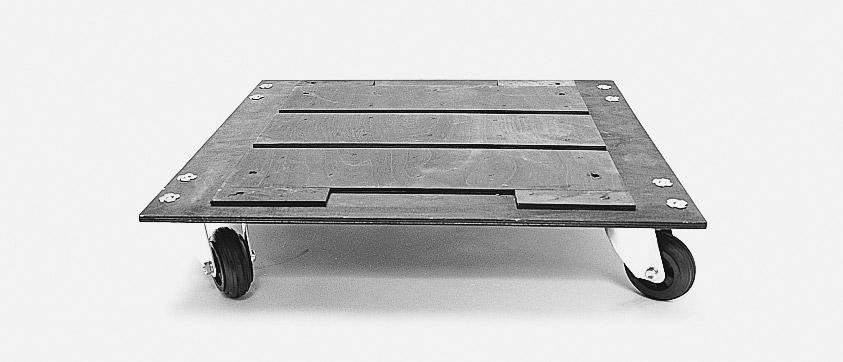 Cp ems513 kit planche a roulettes pour valise ems 500 - Planche a roulette ...