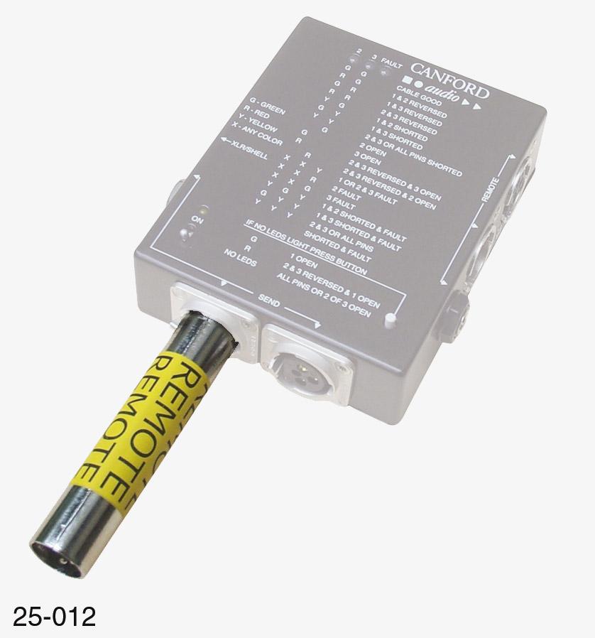 Testeur de cable automatique mk 3 prise xlr d port - Testeur de cable ...