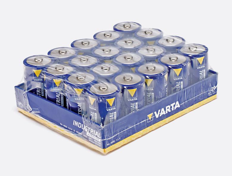 Varta 4020 pile format d alcaline 1 5v bo te de 20 - Pile 1 5v ...