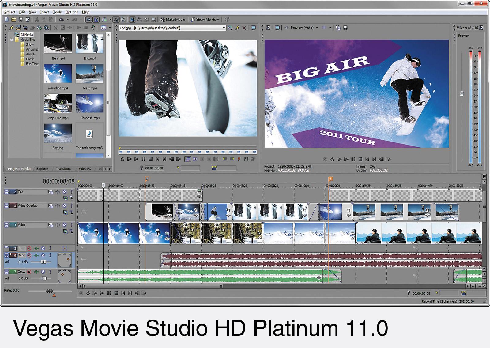 Vegas movie studio hd platinum 11.0 serial number 1s6