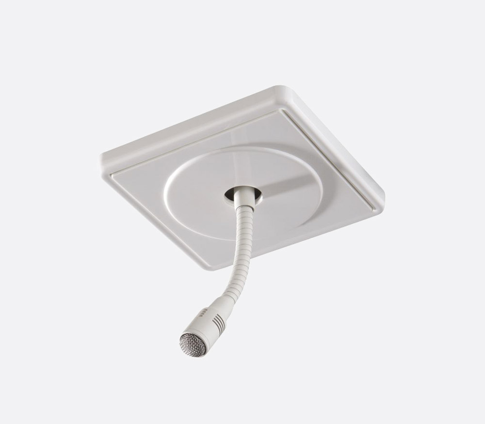 BEYERDYNAMIC OM 302 MICRO MURAL/PLAFOND cardi, blanc
