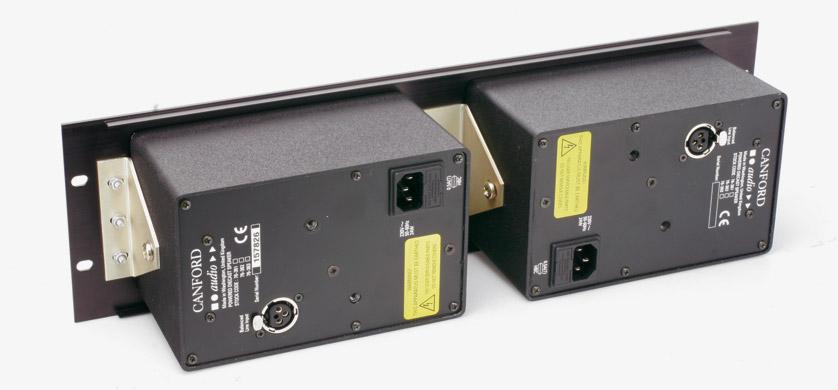 Canford moniteur moule amplifie double iec montage rack for Moniteur montage video
