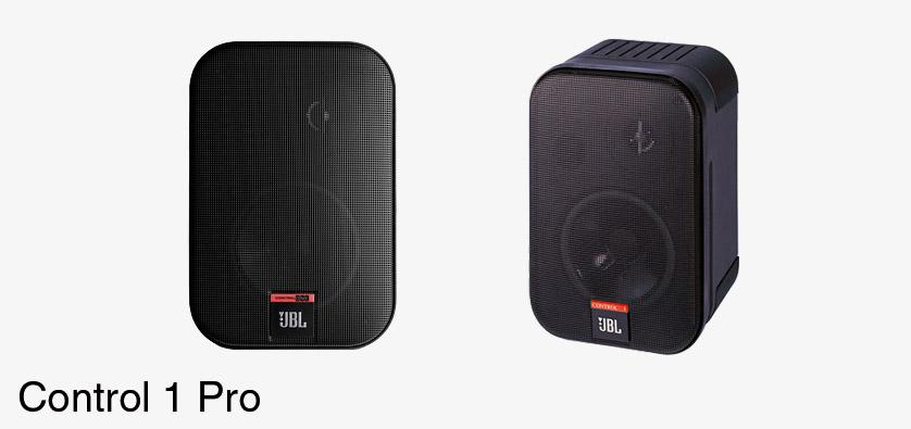 jbl control 1 pro haut parleur 150w 4ohms noir la paire. Black Bedroom Furniture Sets. Home Design Ideas