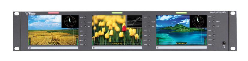 Wohler rm moniteurs multi ecran pour rack canford - Canalplay com multiecrans ...