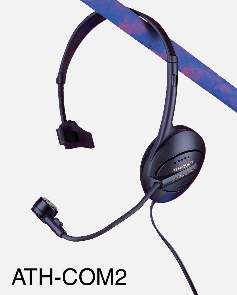 audio technica ath com1 micro casque une oreillette micro dynamique jacks 3 5mm 2 pts adaptateur. Black Bedroom Furniture Sets. Home Design Ideas
