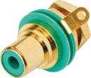 REAN NYS367-5 EMBASE RCA contacts or, bague verte