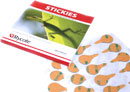RYCOTE 065530 STICKIES MIC MOUNTS Adhesive pads only (1pk of 100)